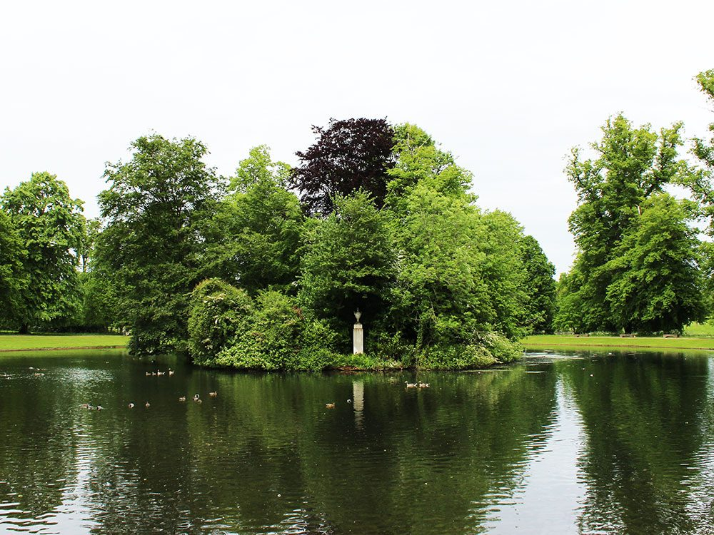Princess Diana's grave site, Althorp