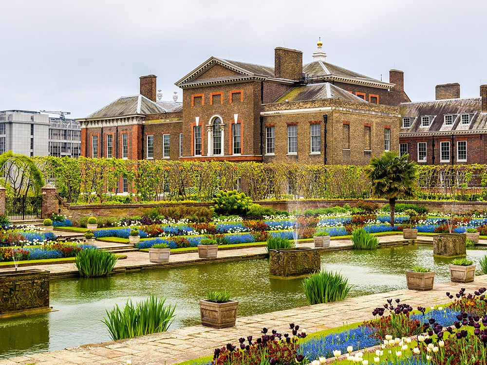 Kensington Palace, London, home to Princess Diana