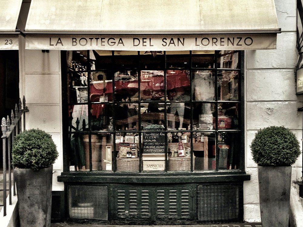 Princess Diana frequented London's San Lorenzo restaurant