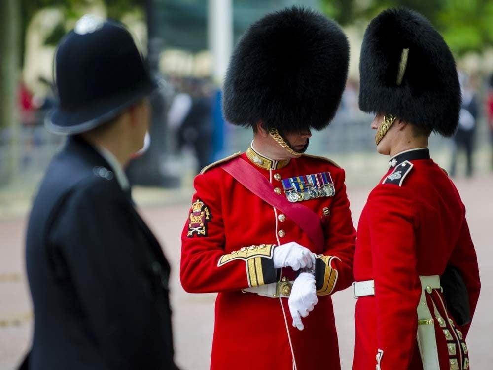 Royal Guard talking