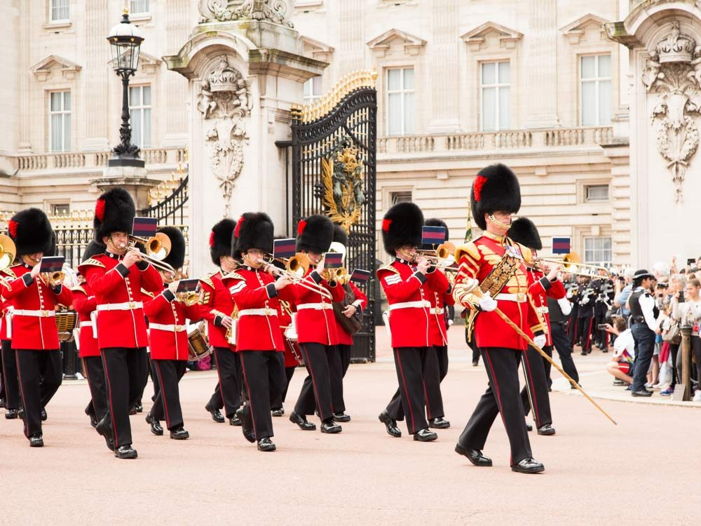 Queen's Guard performing Changing of the Guard