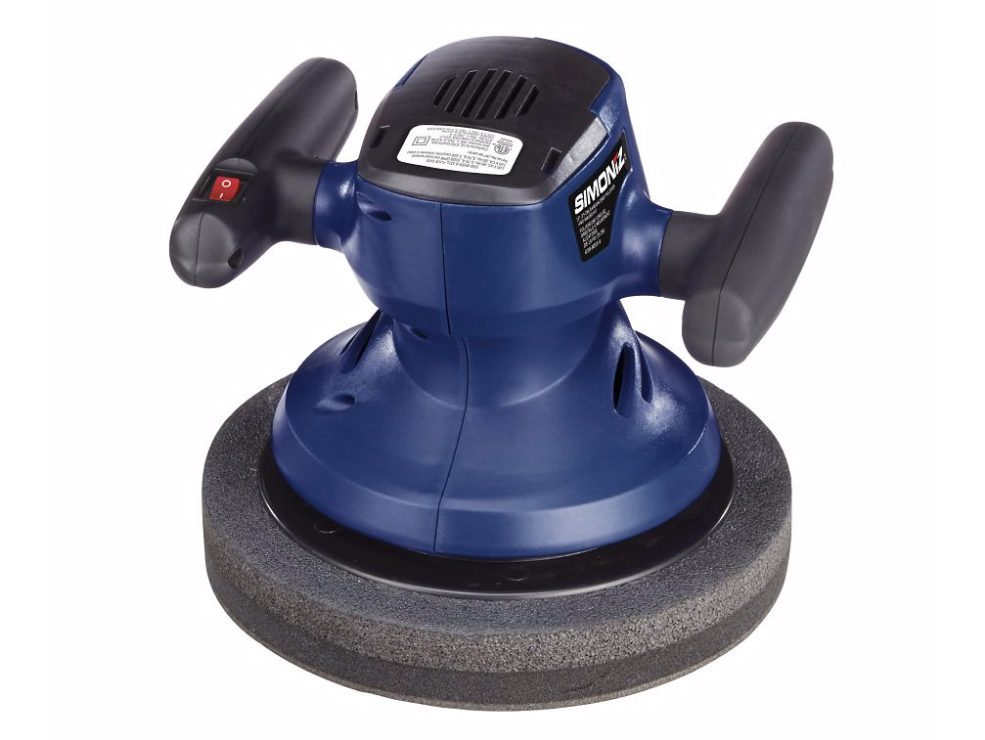 Simoniz orbital sander, car cleaning accessories