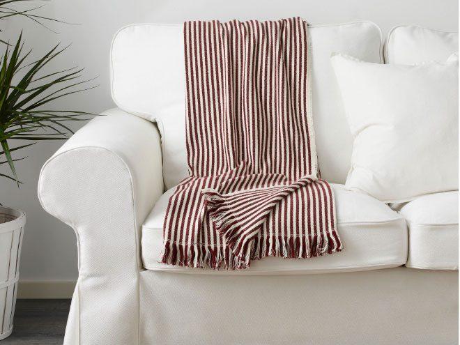 Tuvalie cotton throw, IKEA