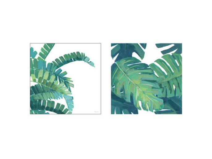 Tvilling tropical foliage prints, IKEA