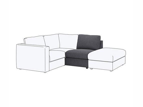 Vimle modular sofa, IKEA