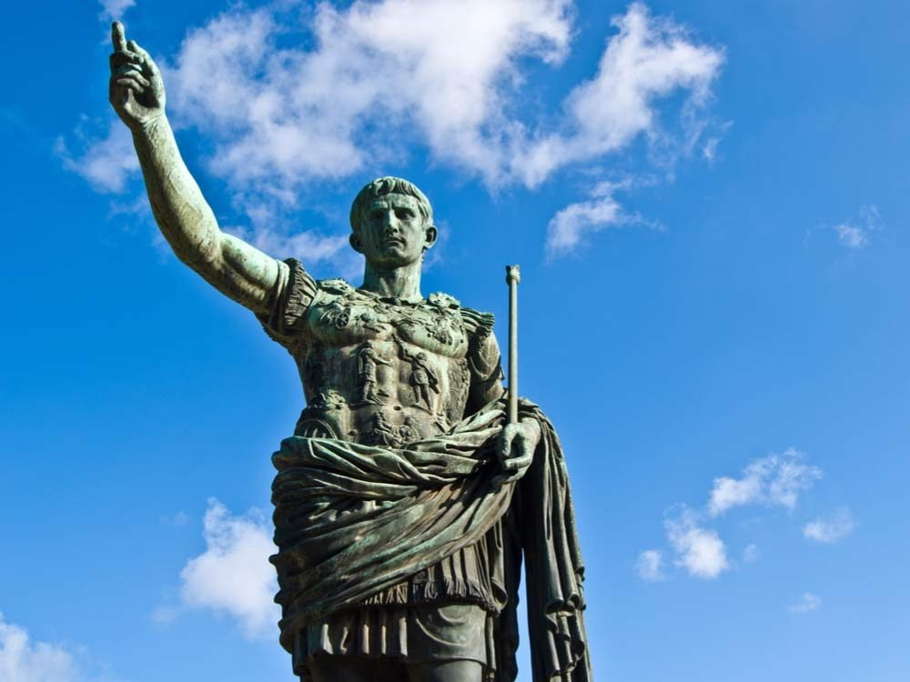 Statue of Augustus, first emperor of Rome