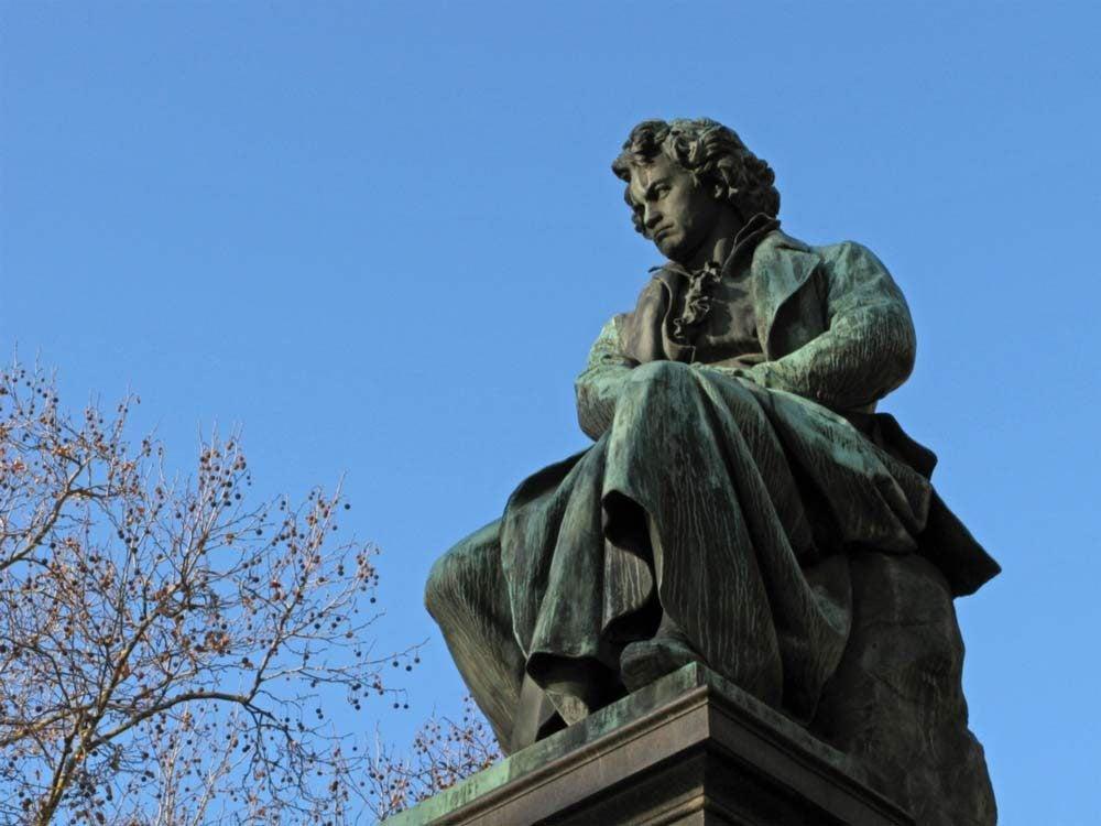 Statue of Ludwig van Beethoven