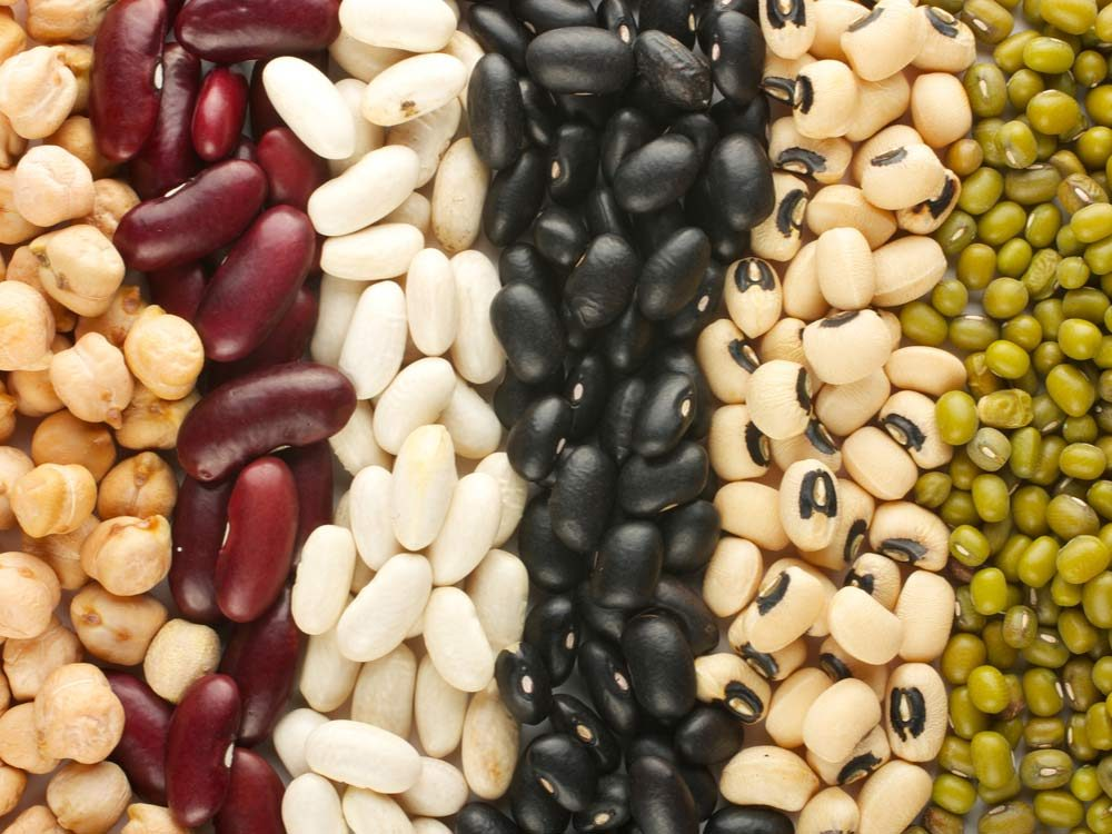 Dried assorted beans