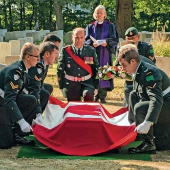 After Being Missing for Seven Decades, This Canadian Soldier is Finally Laid to Rest