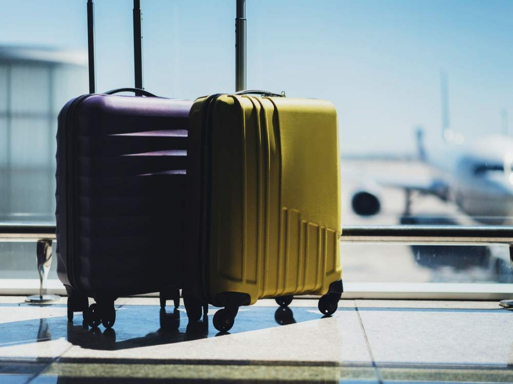 Lost luggage at Canadian airlines