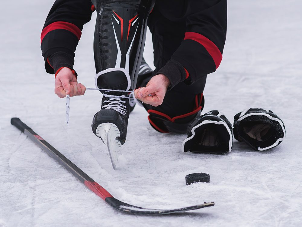 Canadian hockey slang