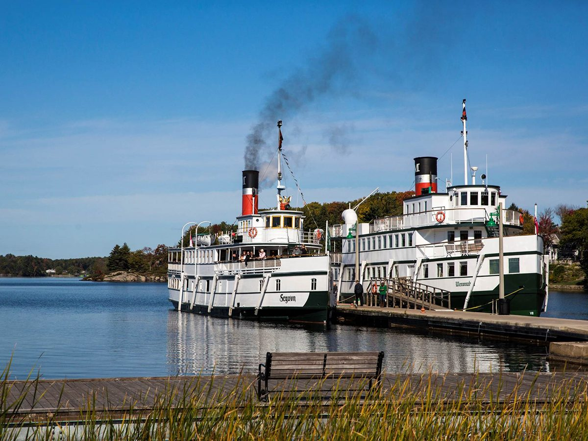 Day trips from Toronto - Muskoka Steamships