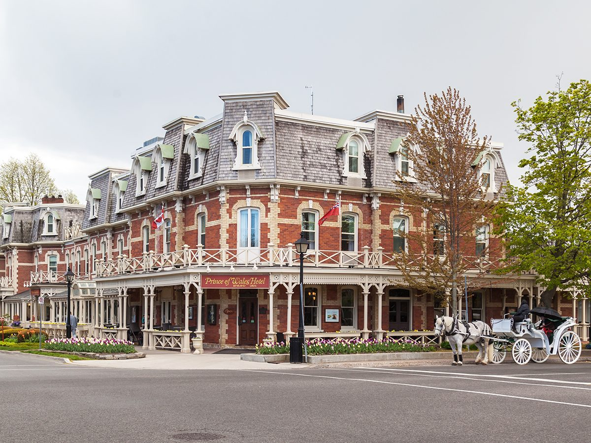 Day trips from Toronto - Niagara on the Lake Prince of Wales Hotel
