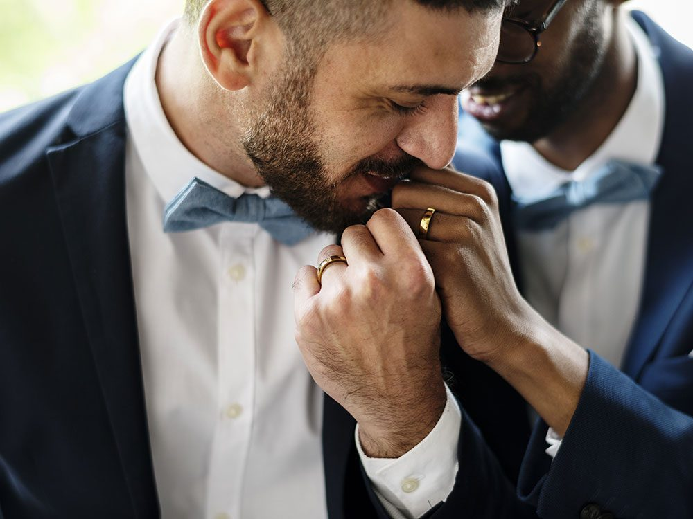 Gay men can be masculine too