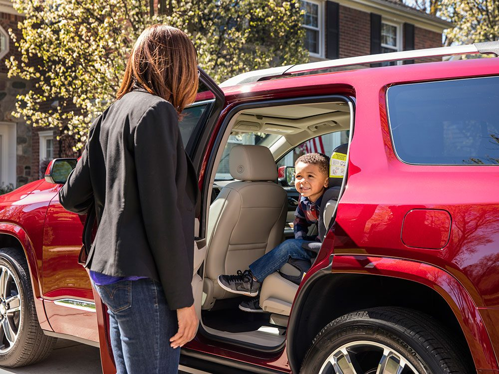 New car features: GMC rear seat reminder
