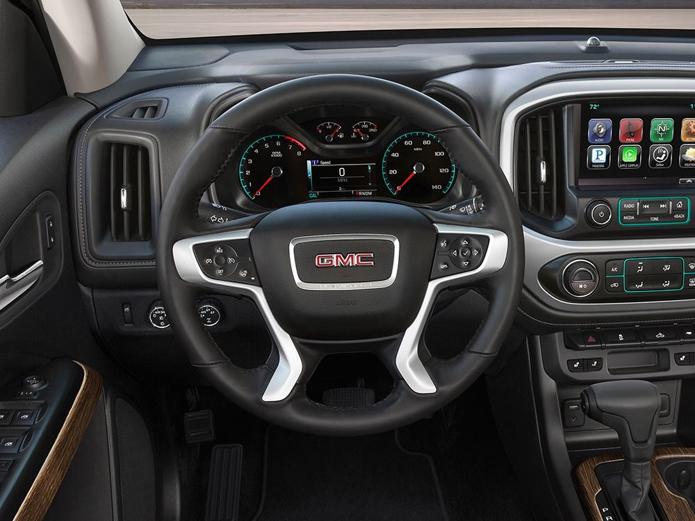 GMC Canyon Denali heated steering wheel