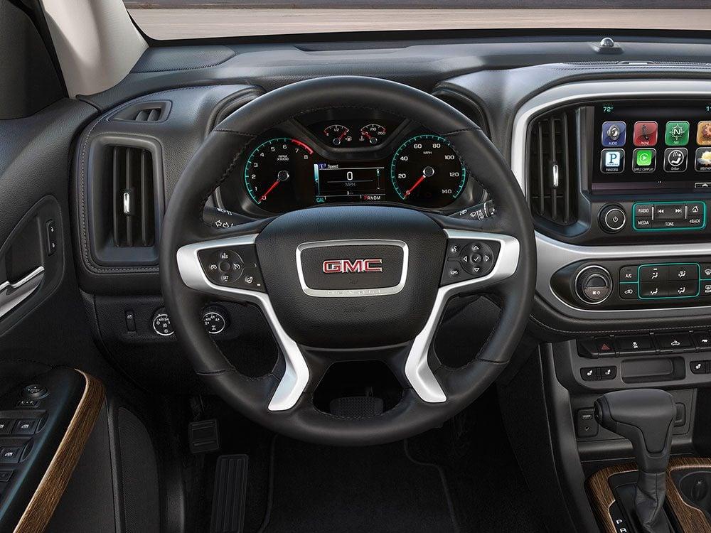 GMC Canyon Denali heated steering wheel