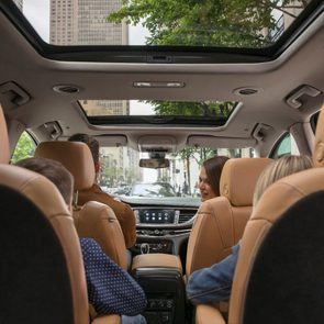 New car features: Air ionizer, Buick Enclave