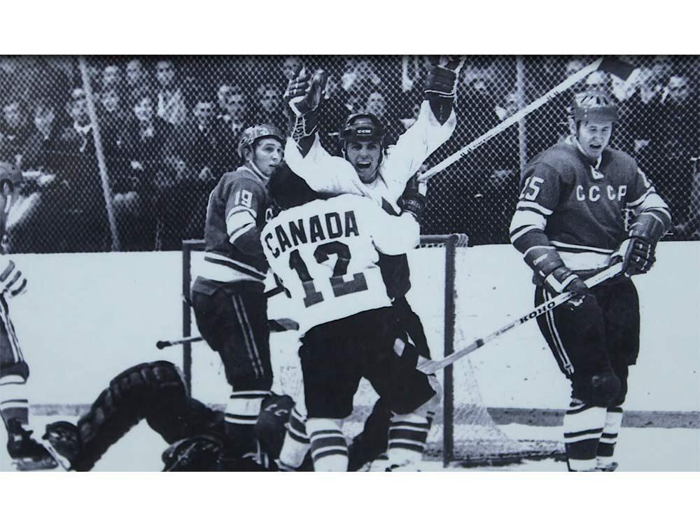 Paul Henderson during his hockey days