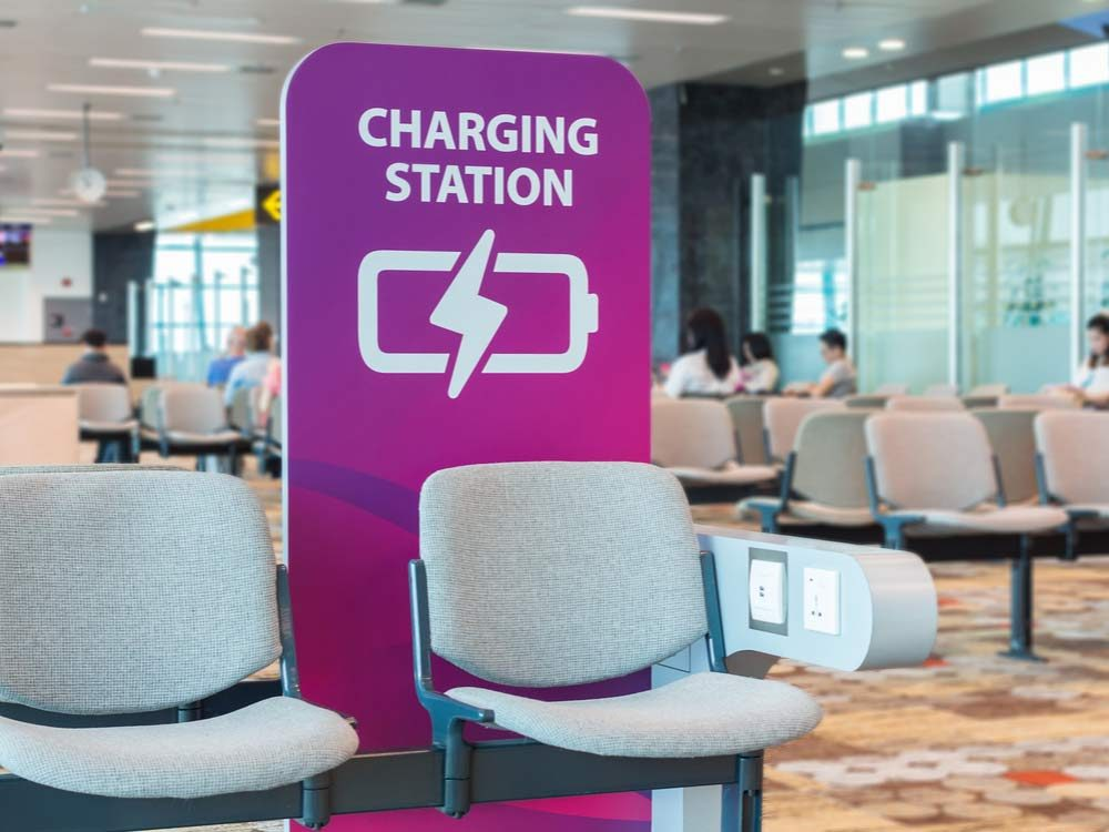 Public charging station