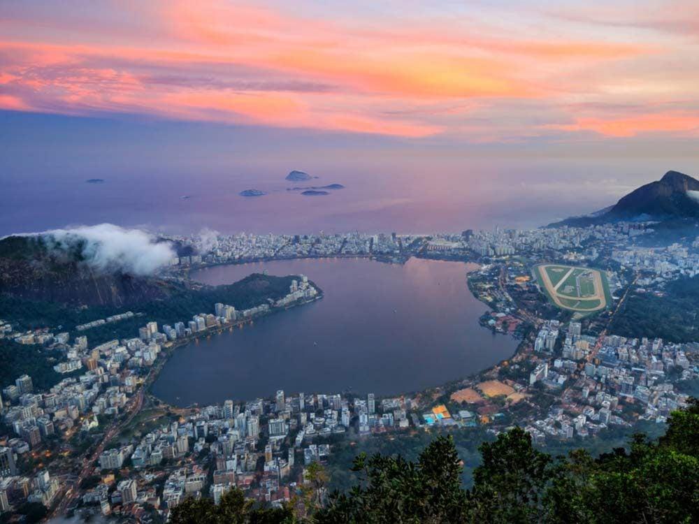 Rodrigo de Freitas in Rio de Janeiro, Brazil