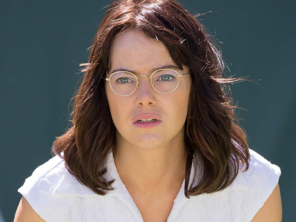 "Emma Stone as Billie Jean King in ""Battle of the Sexes"""