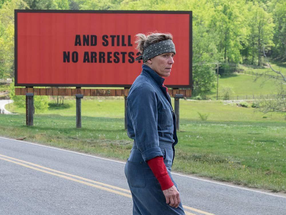 "Frances McDorman in ""Three Billboards"" at TIFF 2017"