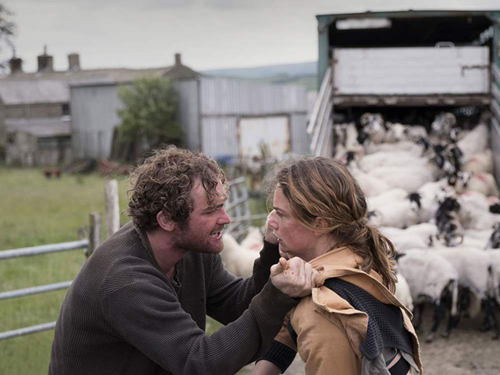 "Ruth Wilson and Mark Stanley in ""Dark River"""