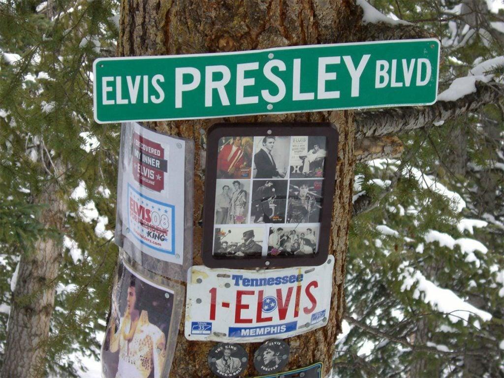 Elvis Presley shrine, Aspen, Colorado
