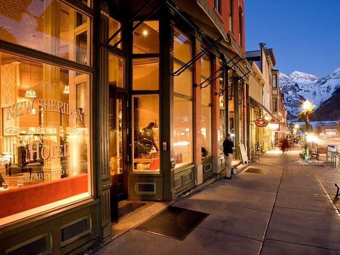 New Sheridan Hotel, Telluride, Colorado