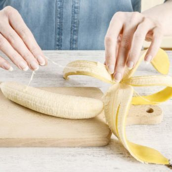 "This Is Why You Shouldn't Be Throwing Out Those Banana ""Strings"""