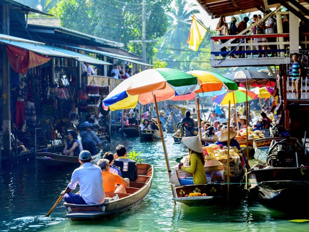 Bangkok was voted the best city in the world
