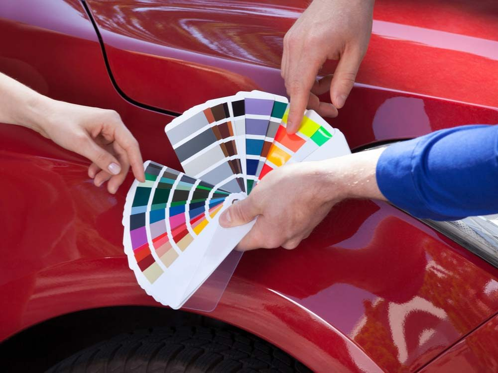 Choosing car colour