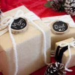Leigh-Ann Allaire Perrault's DIY Chalkboard Gift Tags
