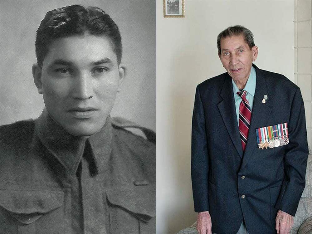 Veteran Charles Tomkins