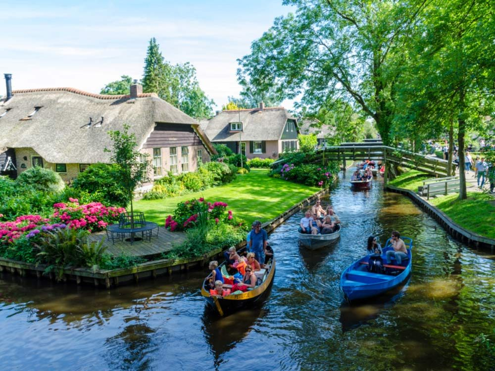 Giethoorn in Holland