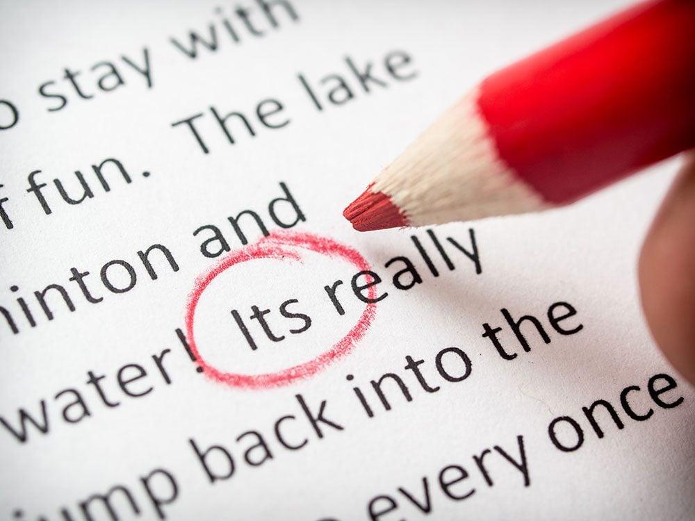 Punctuation Errors