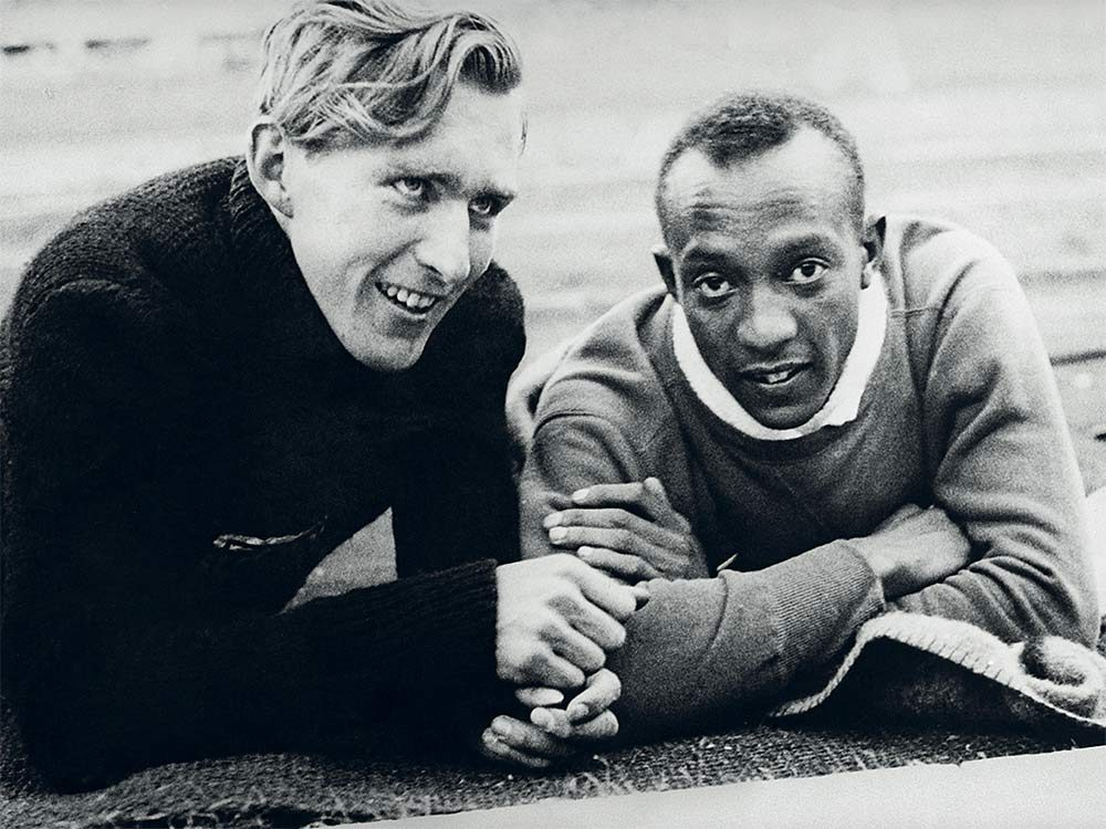 Jesse Owens and Carl Ludwig Long