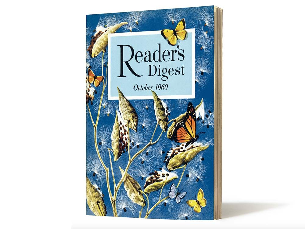October 1960 issue of Reader's Digest