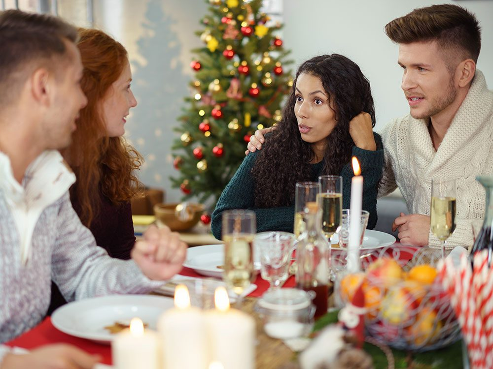 Let curiosity replace curses at holiday dinner