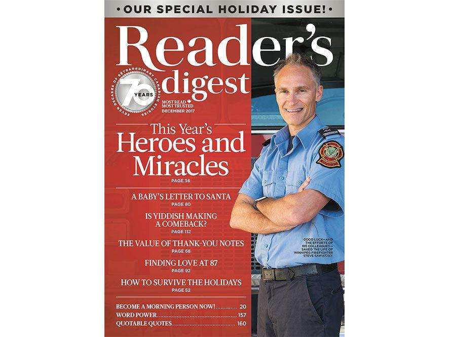 Reader's Digest Canada - December 2017