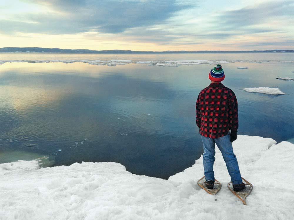 New Brunswick in winter