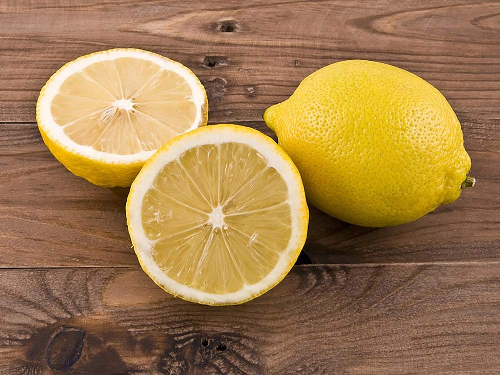 Lemon on your nightstand