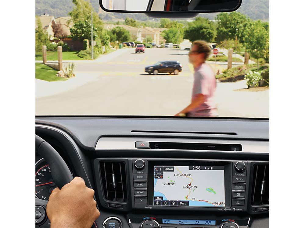 Pre-collision system of Toyota RAV4