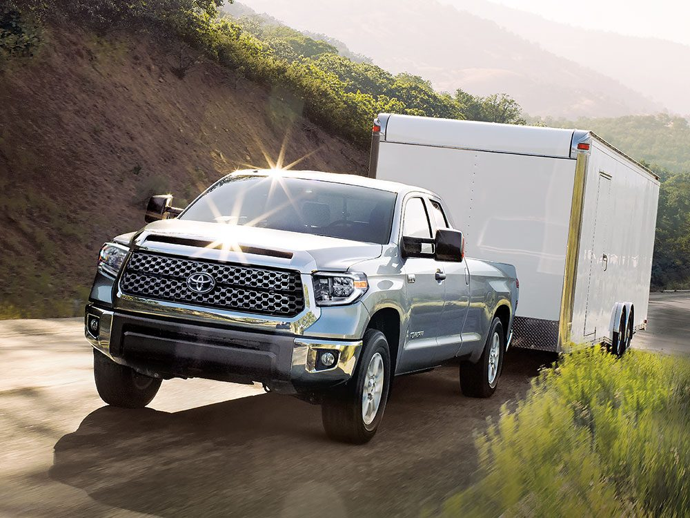 Toyota Tundra towing capacity