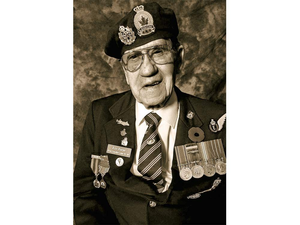 World War Two veteran Roy Foster