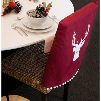 Leigh-Ann Allaire Perrault's Gorgeous DIY Dining Chair Slipcovers