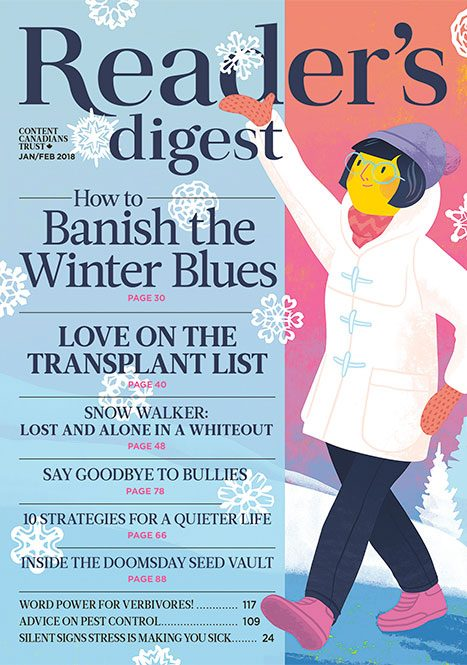 Reader's Digest Canada - January/February 2018