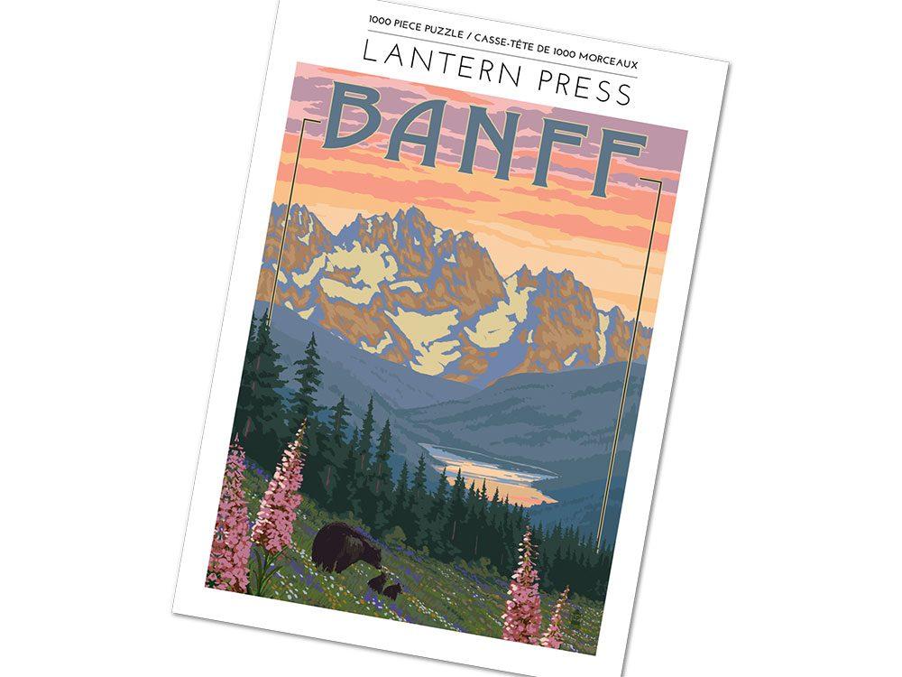 Banff 1,000 piece jigsaw puzzle