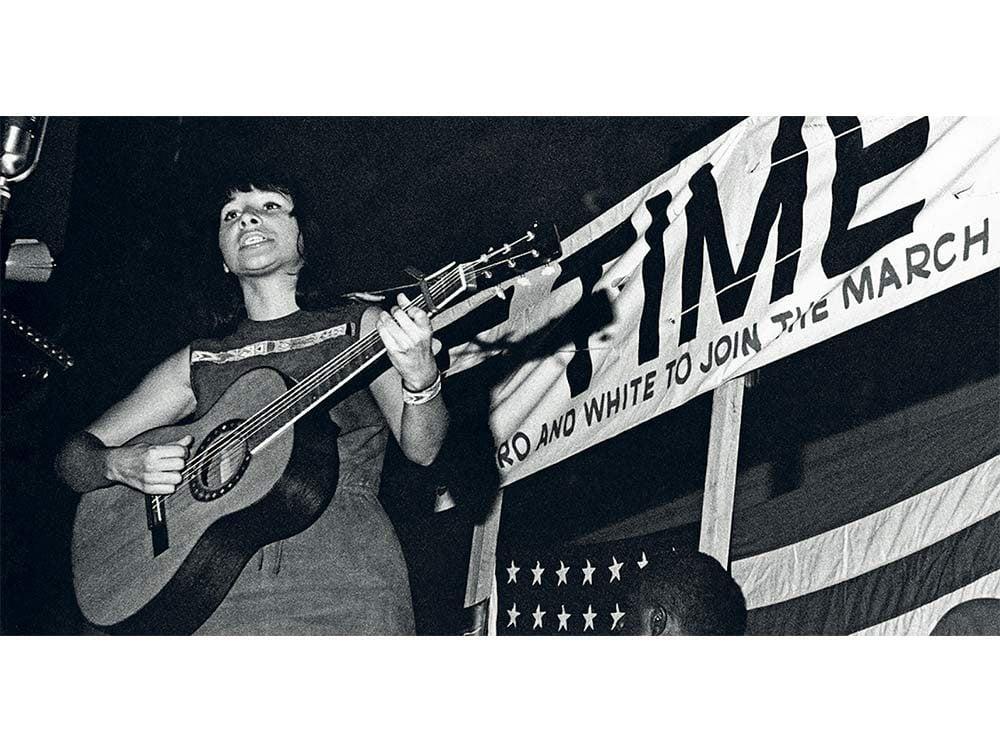 Buffy Sainte-Marie in 1963